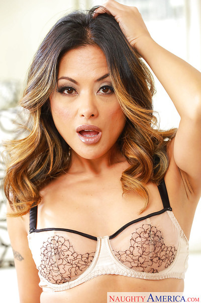 Chinese wife and beauty illustration Kaylani Lei skims underclothes over toned apple bottoms