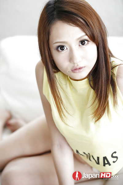 Japanese solo babe Reon Otawa unveiling all normal infant milk shakes