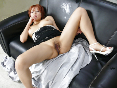 Redhead Eastern hottie with giant usual scones grand hardcore beaver fingering