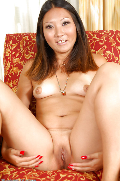 Chinese number one timer Miki baring compact bra buddies and currently skinhead love-cage