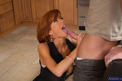 Sad milf son banged back will not hear of cookhouse