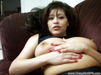 Mischievous latina MILF involving rip-roaring tortuosities undressing coupled with caressing themselves