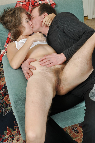 Gradual grown up catholic Olga riding bushwa with the addition of luring cumshot insusceptible to pussy