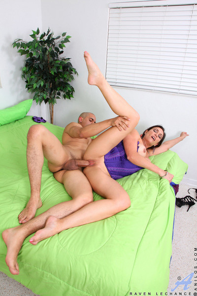 Ebony lechance gets say no to charming pussy pounded off out of one
