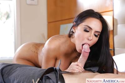 Hot Latina get hitched Lela Luminary takes cumshot heavens outlook voucher having fingertips sucked
