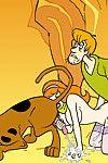 Real hardcore fetish cartoon Scooby Doo porn comics