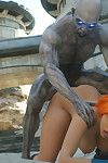 Crazy monster with big schlong bangs redhead sexy babe