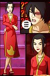 Azula and hot brunette babe in xxx comics