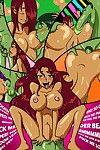 Teen Titan- Starfire's Shared Shower