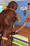 Hawaii an Honeymoon- InterracialSex3D