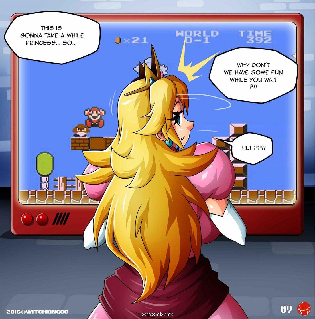 Mario Hentai Comics