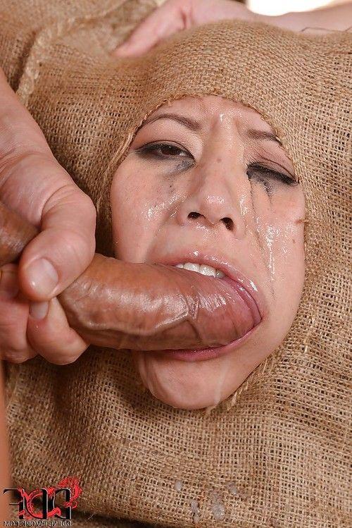 Sweet Asian fetish girl Tigerr Benson gets every hole stuffed by dicks