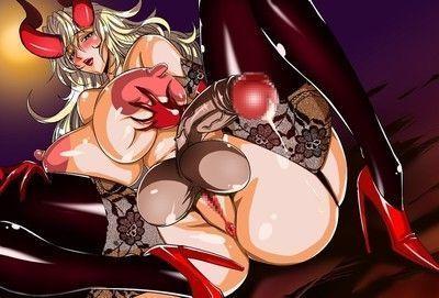 Evil dickgirl succubus
