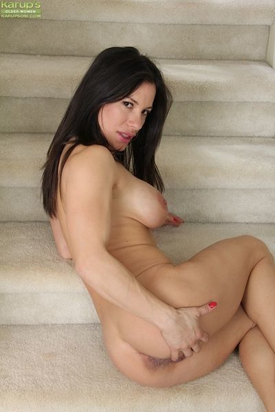 Nasty Latina Isabella Rodriguez is a crazy mature with nice boobs