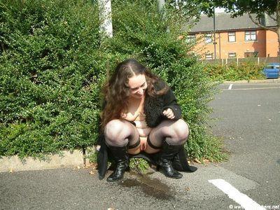 Raunchy bbw infant nimue obtains caught short although out in public