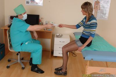 Medical interrogation in doctors office