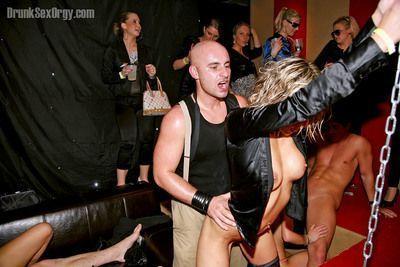 Ravishing sluts having fun with well-hung guys at the hardcore sex party