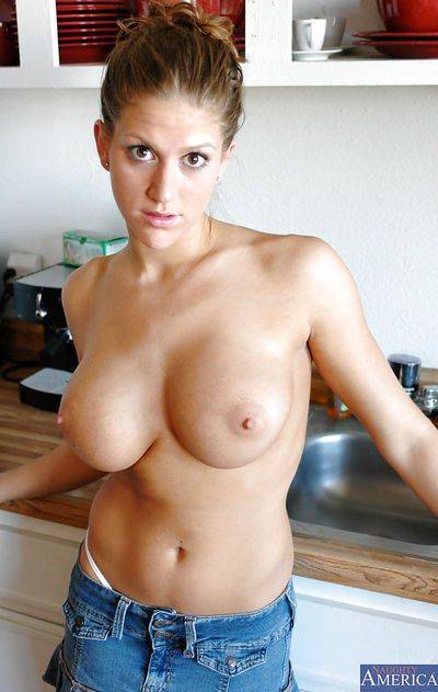 Sexy whore with huge boobs Eve undressing that body and showing it