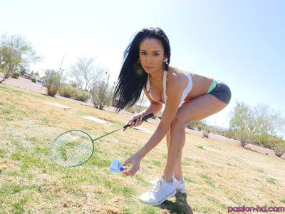 Jackie wood gets her pussy smashed by her badminton instructor