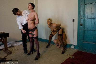 The house of kink slave serve the first dinner party