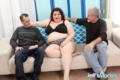 Big boobed plumper stazi gets her pussy and asshole filled with