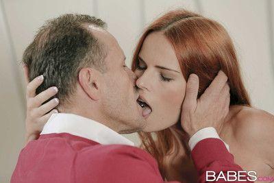 Susana melo cute redhead babe getting cum