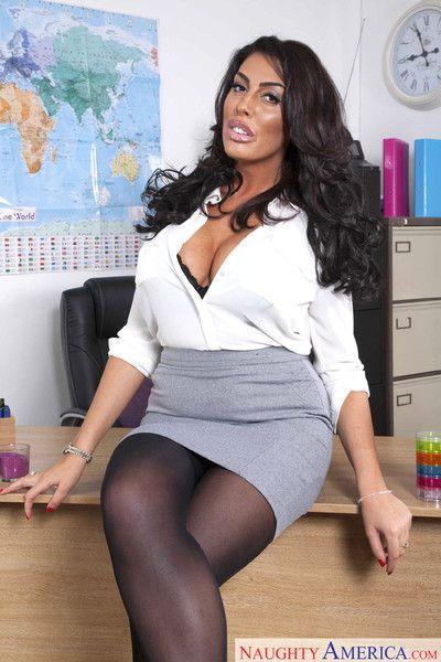 Busty teacher ava koxxx bangs her student in the classroom