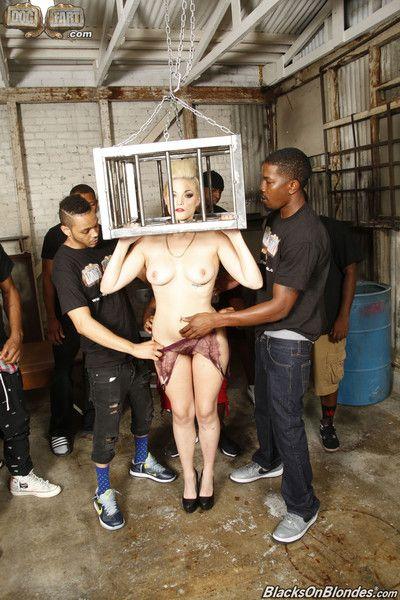 Jenna ivory interracial gangbang