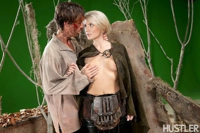Amanda tate and richie calhoun in this aint game of thrones xxx