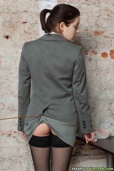 Undressed fucked secretary candidate