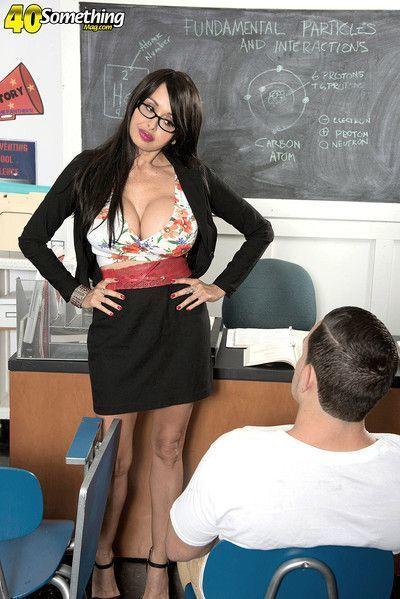 Sexy busty teacher claudia kealoha fucked in class