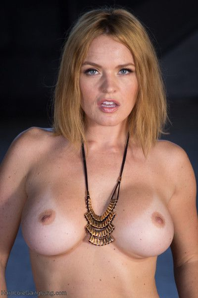Krissy lynn gives in t her most carnal desires and gets double penetrated, rough