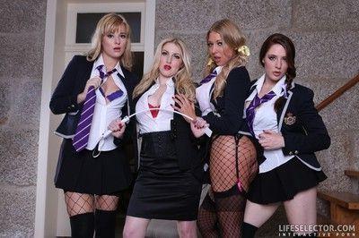 Naughty college: sluts