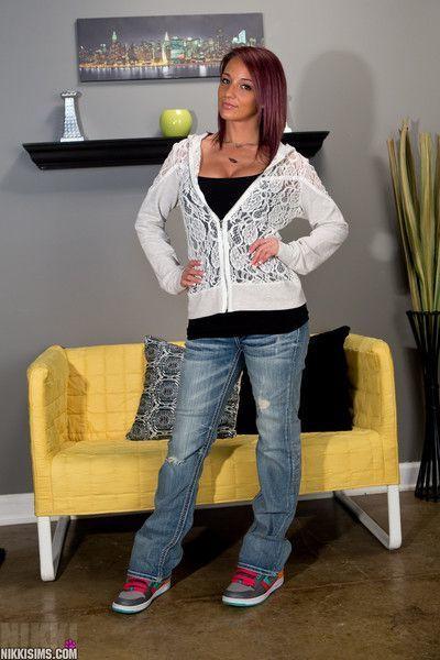 Nikki sims lace hoodie
