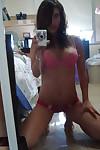 Naked snapchat girls take naked selfies on thier phones - part 4214