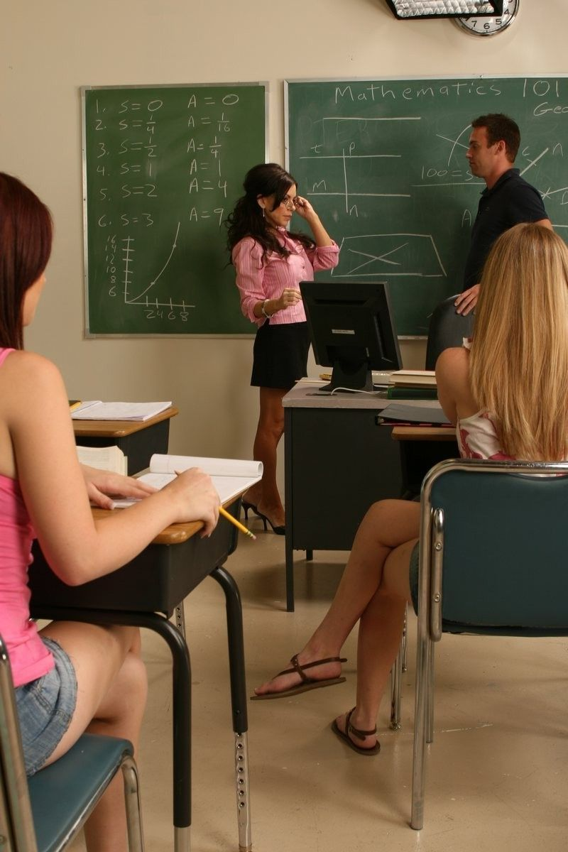 Lehrer fickt Mädchen Student