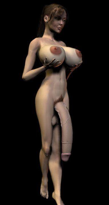 Desire cock futanari
