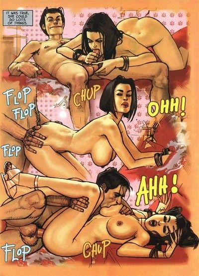 Hot adult comics with sexy babe sucking learn of