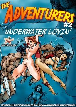 Burnish apply Adventurers 2- In-ground Lovin