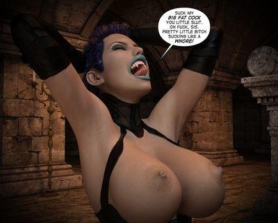 Helen Threatening Vampire Hunter - To Hell 1 - part 4