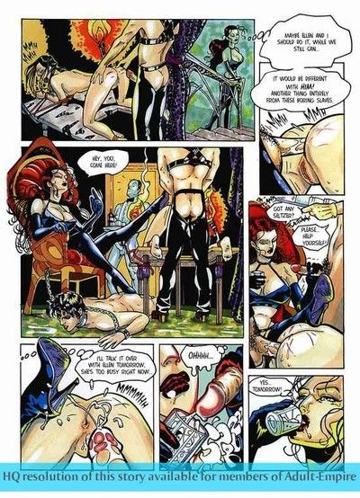 Sexy beauty gets pussy fragmentary with respect to hot adult comics