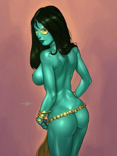 Gamora green Hercules sex
