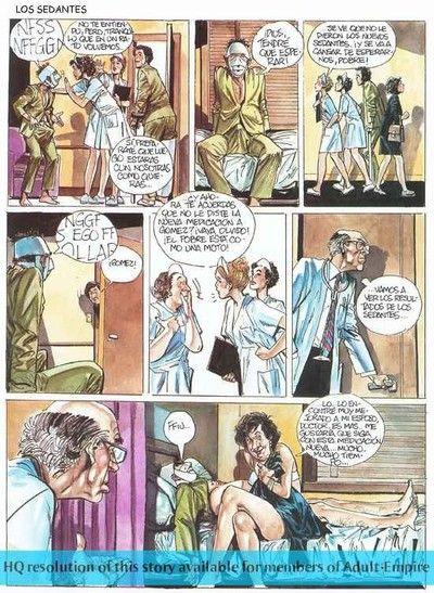 Crestfallen beauty gets pussy crushed up hot adult comics