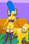 Simpsons befit their sex gambol with bdsm