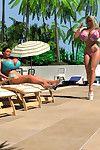 Pornstar 3d downcast super blonde in bikini sunbathing unserviceable