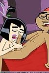Cool threesomes and solos of X-rated cartoon babes