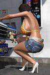 Sexy 3d babe at release carwash shiny obese confidential
